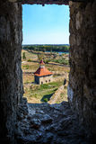 Old fortress on the river Dniester in town Bender, Transnistria. City within the borders of Moldova under of the control unrecogni Stock Image