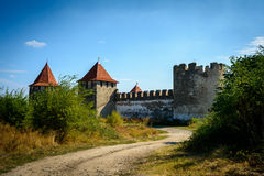 Old fortress on the river Dniester in town Bender, Transnistria. City within the borders of Moldova under of the control unrecogni Stock Photo