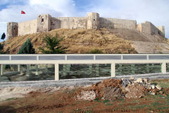 Ruins and fortress Stock Photos