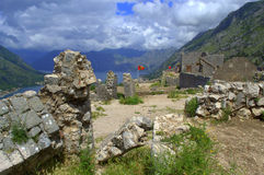 Old fortress ruins,Montenegro mountains Royalty Free Stock Photo