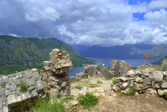 Old fortress ruins,Montenegro mountains Royalty Free Stock Photography