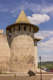 Old fortress in Soroca, Nistru river, Moldova. Old fortress in Soroca,situated on Nistru river, Moldova Stock Photography
