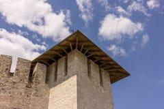 Old fortress in Soroca, Nistru river, Moldova. Old fortress in Soroca,situated on Nistru river, Moldova Royalty Free Stock Image
