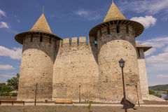 Old fortress in Soroca, Nistru river, Moldova. Old fortress in Soroca,situated on Nistru river, Moldova royalty free stock photography