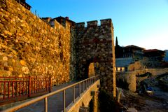 Old fortress of Sozopol. Royalty Free Stock Photos