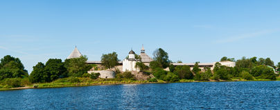 Old fortress in Staraya Ladoga Royalty Free Stock Image