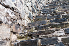 Old fortress stone staircase Stock Image