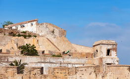 Old fortress in Tangier, Morocco Stock Photos