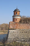 The old fortress tower. Royalty Free Stock Images
