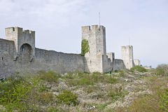 Visby Sweden. Old fortress tower in Visby Sweden Royalty Free Stock Photography
