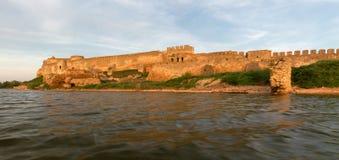 Old fortress in town Bilhorod-Dnistrovsk i Odessa region Stock Image