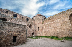 Old fortress in town Bilhorod-Dnistrovski Stock Image