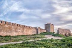 Old fortress in town Bilhorod-Dnistrovski Stock Photography