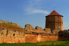 Old fortress in town Bilhorod-Dnistrovski Odessa region Stock Image