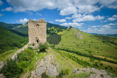 Old fortress in Transylvania Stock Images