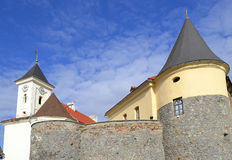 Old fortress under sky Royalty Free Stock Photo