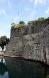Old Fortress Walls of Kotor Stock Photo