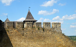 Old fortress walls Stock Photo