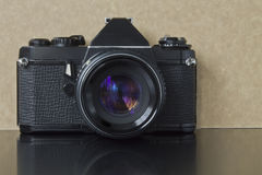 Old foto camera Royalty Free Stock Photos