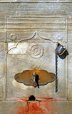 Old fountain. An old fountain in Istanbul Turkey Royalty Free Stock Images
