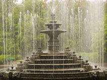 Old Fountain. In Chisinau city park in Moldova Royalty Free Stock Images