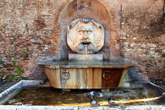 Old fountain in Aventino hill - Rome Royalty Free Stock Photo