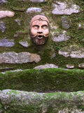 Old fountain. Detail in ceret Stock Image