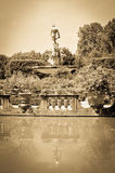 Old fountain in Florence, Italy Stock Photos
