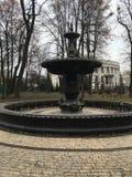 Old fountain in Kiev stock image
