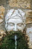 Old fountain in Mougins Stock Photo