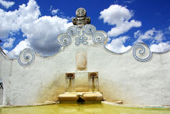 Old  fountain near Arraiolos village Stock Photo