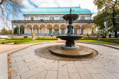 Old Fountain near Queen Anne's Summer Palace in Royalty Free Stock Photo