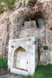 Old Fountain near wall of Hippodrome of Constantinple, Istanbul. City, Turkey stock photo