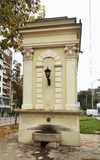Old fountain in Nis. Serbia Stock Photo