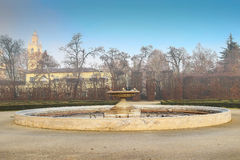 Old fountain in the park Stock Photography