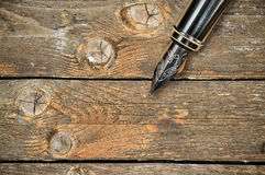 Old fountain pen Royalty Free Stock Image