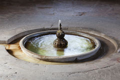 Old fountain in Seville, Spain Royalty Free Stock Image
