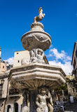 Old Fountain by Vincenzo Cacopardo in Taormina royalty free stock photos