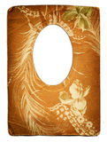 Old frame. Old paper frame in victorian style royalty free stock image