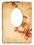Old frame. Old paper frame in victorian style Royalty Free Stock Photo
