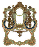 Old Frame. Luxuriously illustrated old colored victorian frame royalty free illustration