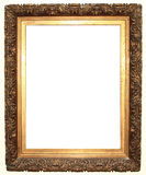 Old frame. With white interior Royalty Free Stock Images