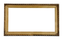 Old frame Stock Images