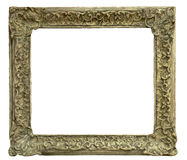 Old frame. Olde frame carved in wood stock photography
