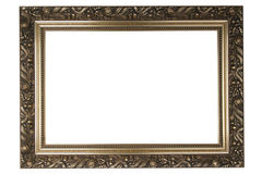 Old frame. An gold old decorative frame royalty free stock images