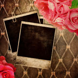 Old frame for photo Royalty Free Stock Photography