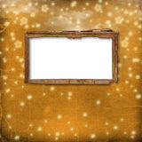 Old frame for photo or invitations Royalty Free Stock Photo