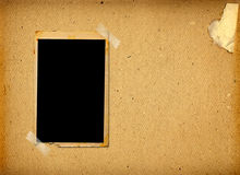 Old  frames on the ancient paper background Royalty Free Stock Photo
