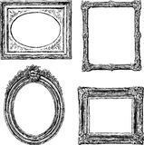 Old frames Royalty Free Stock Image