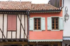 Old framework houses Royalty Free Stock Image